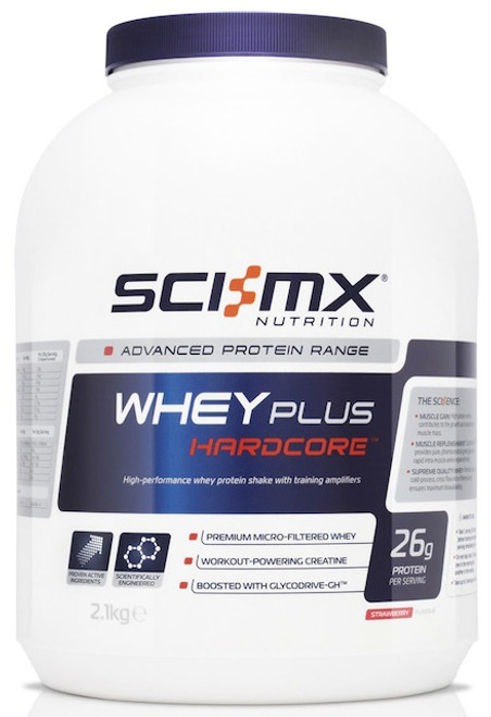 Sci-MX Whey Plus Hardcore 2.1 KG