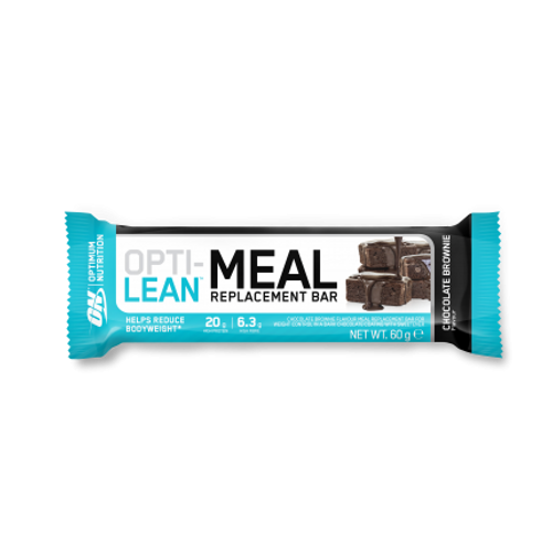BUY 4 GET 1 FREE - Optimum Nutrition Opti Lean Meal Replacement Bar 60 G X 12