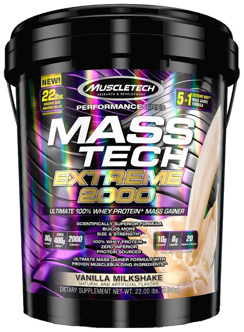 Muscletech MASS TECH Extreme 2000 9.98 KG (22 LB)