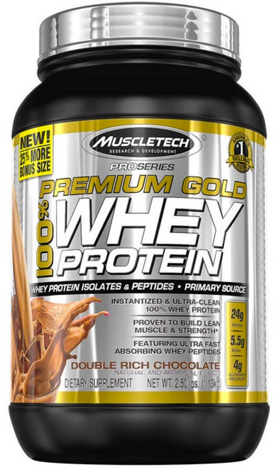 Muscletech Premium Gold 100% Whey Protein 1.13 KG (2.50 LB)