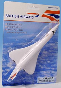 Premier Planes British Airways Concorde Sight & Sounds Pullback Motor