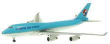 Apollo 400 Korean Air Cargo Boeing 747-4B5 Diecast 1/400