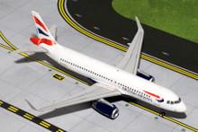 GeminiJets British Airways Airbus A320 'Sharklets' 1/200 G2BAW424