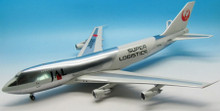 JFOX Japan Airlines Super Logistics Boeing 747-200 With Stand 1/200