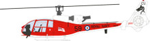 Aviation 72 Westland Gazelle Royal Navy Sharks 1/72