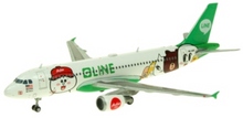 JC Wings Airasia Airbus A320 'Line' 9M-AHR 1/400