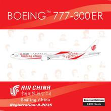 "Phoenix Air China Boeing 777-300ER ""Smiling China"" 1/200 B-2035"