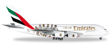 """Herpa Emirates Airbus A380 """"Real Madrid"""" 1/500"""