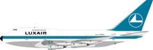 Inflight200 Luxair Boeing 747SP LX-LGX 1/200