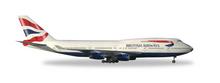 """Herpa British Airways Boeing 747-400 """"victoRIOus"""" 1/500"""