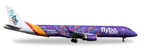 """Herpa FlyBe Embraer E195 """"Welcome to Yorkshire"""" 1/200"""