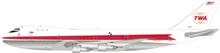 Inflight200 TWA Boeing 747-100 N93101 1/200