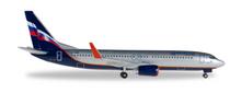 Herpa Aeroflot Boeing 737-800 VP-BRR 1/500