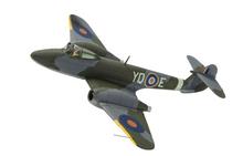 Corgi Gloster Meteor F.1, EE216, T.D. 'Dixie' Dean, RAF No.616 Sqn and V-1 'Doodlebug' 1/72