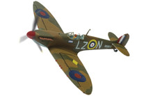Corgi Supermarine Spitfire Mk.I R6800/LZ-N, Sqn. Ldr. Rupert 'Lucky' Leigh-Corgi 60th model 1/72
