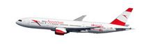 Herpa Austrian Boeing 777-200 - new colors - OE-LPD 1/200