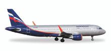 """Herpa Aeroflot Airbus A320 VP-BAD """"Abram Ioffe"""" 1/500"""