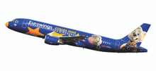 "Herpa Eurowings Airbus A320 ""Europa-Park"" D-ABDQ 1/125"