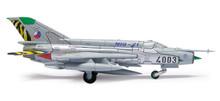 "Herpa Czech Air Force Mikoyan MiG-21MF, 211. TL ""MiG-21 farewell"" 1/200"