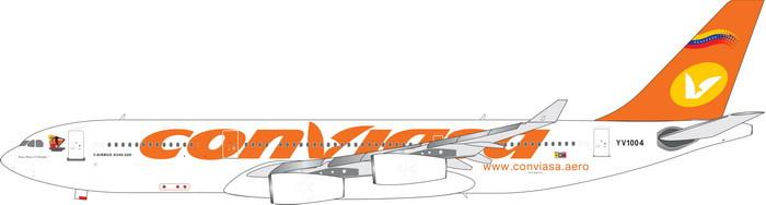 Resultado de imagen para Conviasa A340 png