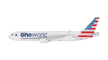 GeminiJets American Airlines Boeing 767-300W (One World Livery) N343AN 1/400 GJAAL1680