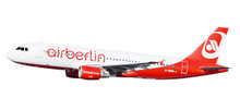 "Herpa Airberlin Airbus A320 ""Last Flight"" - D-ABNW 1/200 611923"