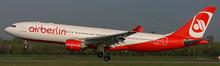 JC Wings Air Berlin Airbus A330-200 D-ALPA 1/400 XX4023