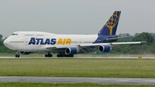 JFox Atlas Air Boeing 747-400 N464MC 1/200