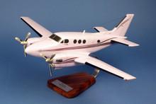 Pilot Station Beech 90 King Air 1/28