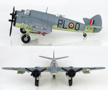 HobbyMaster Beaufighter TF.X 144 Sqn RAF / Torpedo- LTD600 1/72