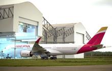 JC Wings Iberia Airbus A350-900XWB EC-MXV Flaps Down 1/200