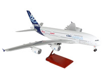 SkyMarks Airbus A380 House Colour with wooden stand 1/100