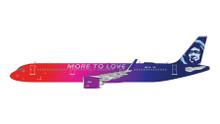 "GeminiJets Alaska Airbus A321neo ""More to Love"" N927VA 1/400 GJASA1776"
