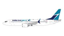 GeminiJets WestJet Boeing 737 MAX-8 (Old Livery) C-FRAX 1/400 GJWJA1823