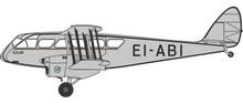 """Herpa DH84 Dragon - EI-ABI """"Iola"""" 1/72"""