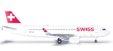 Herpa Swissair International Air Lines Airbus A320 1/200