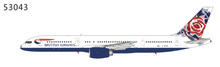 NG Models British Airways Boeing 757-200 G-BIKB Chelsea Rose 1/400