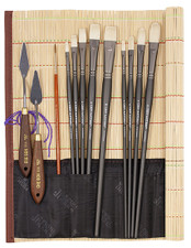 John Hulsey Plein Air Oil Brush Kit by Richeson