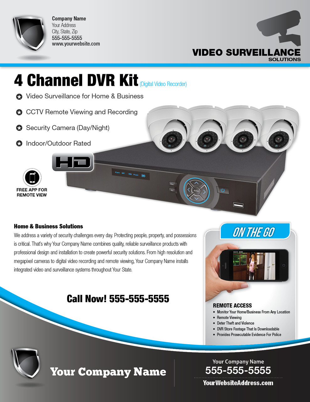 CCTV Flyer SSampSi Dealer Network