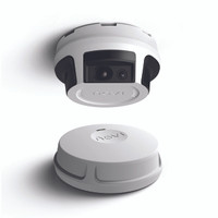 NOVI   4-in-1 Security, HD Camera, Motion Detection, Smoke Detector, Siren