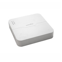 UNIVIEW Smart 1U chassis NVR, 8 channels@1080P realtime live view/recording, 8 PoE port plug and play