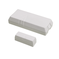 IQ Standard DW (White) - Standard wireless door/window sensor with external contact terminals