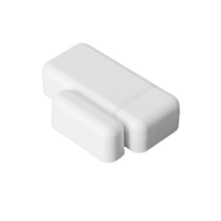IQ Mini DW S-Line (White) - Encrypted.  Small, low-profile door/window sensor.  Rare-earth magnet for wide gap.