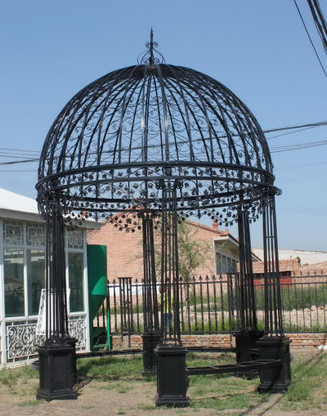 Cast Iron Gazebo Victorian Style Wrought Iron