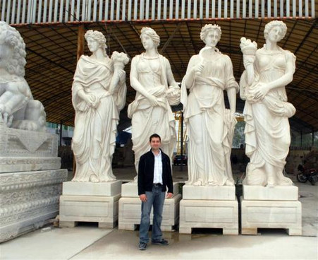 Four Season Statue Marble Statues Garden Statues
