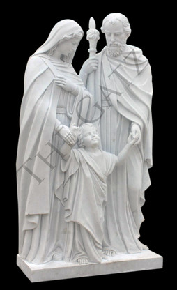 Holy Family Marble Statue Thegatz