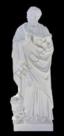 St. Mark Hand Carved Marble Statue Life Size