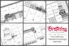 2017 APRIL MINI-BUNDLE: Birthday Theme - Two Page