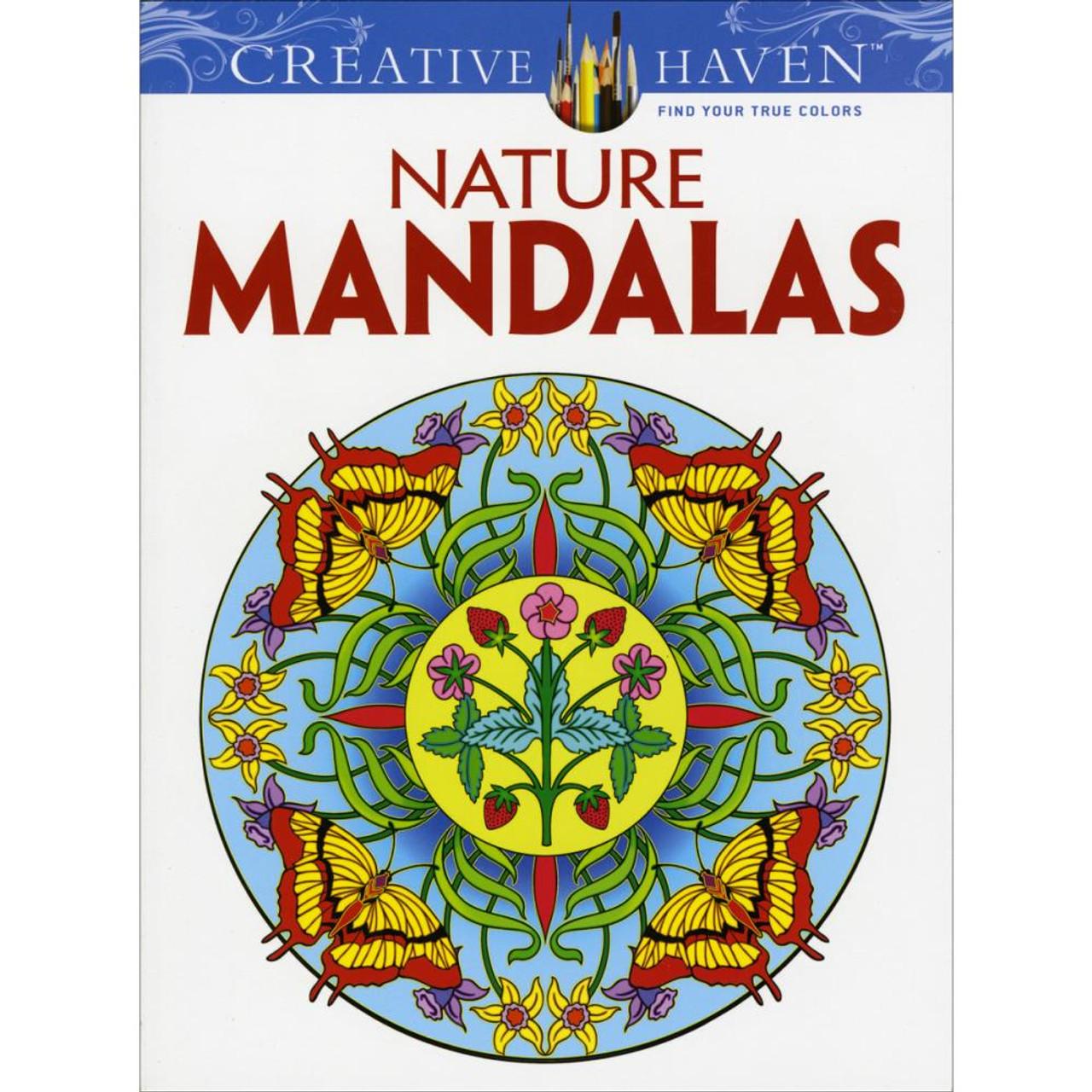 Creative Haven Coloring Book Nature Mandalas