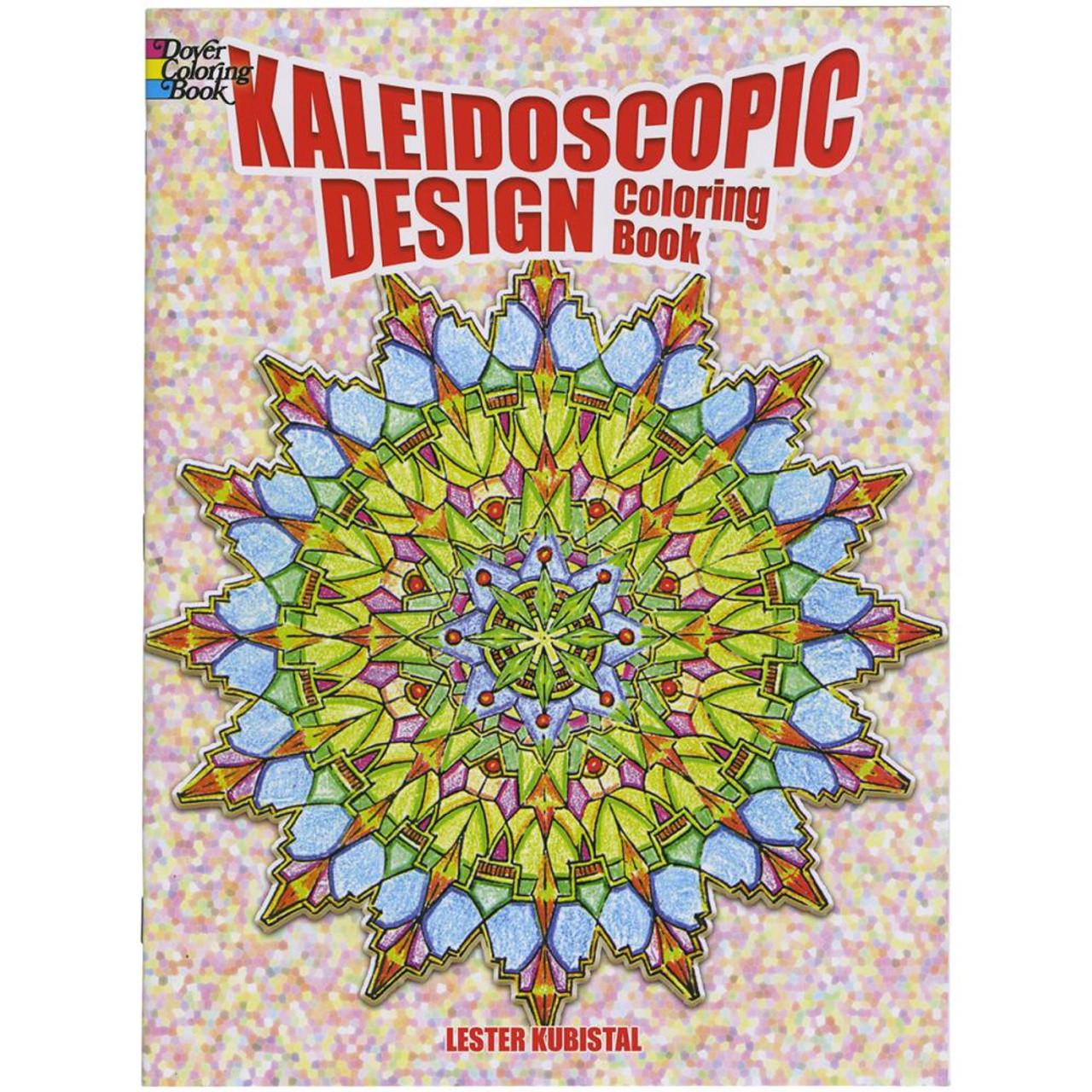 dover publications coloring book kaleidoscopic design - Dover Publishing Coloring Books